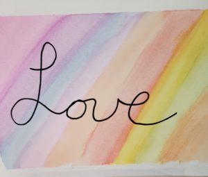 Natalies Painting of Love