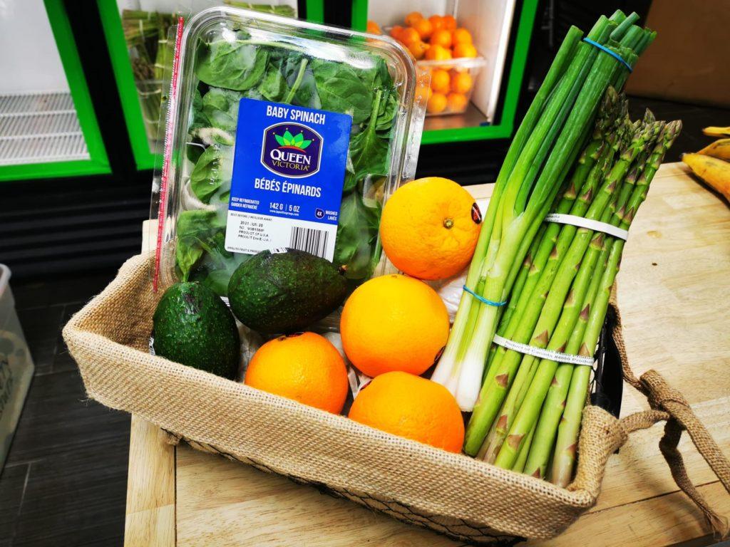 Small Fresh Food Box