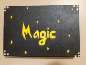 Maryam's Magic Art Piece