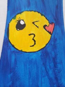 Emily's emoji artwork